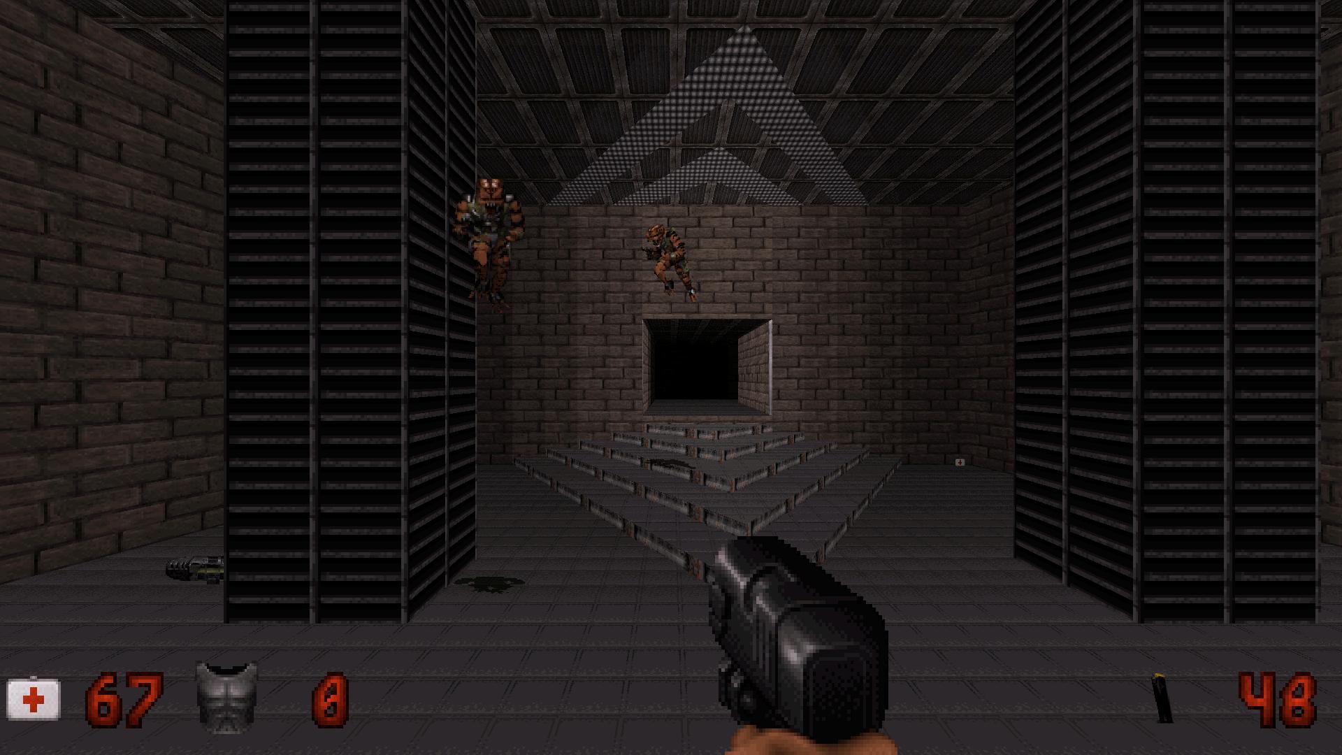 Map: Doom II E1M1 for Duke, author: Malcolm Boy